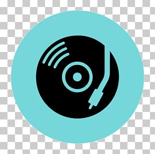 Music Disc Jockey Icon PNG