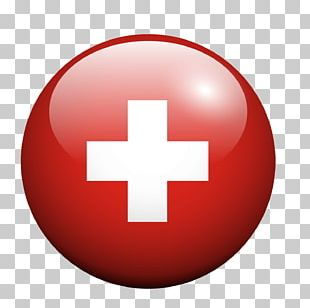 Red Cross Red Circle Texture PNG