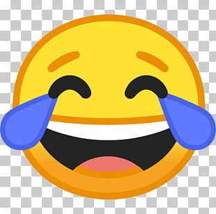 Face With Tears Of Joy Emoji Emoticon Sticker Android Oreo PNG