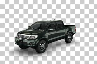Toyota Hilux Car Pickup Truck Tire PNG