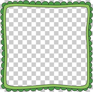 Shamrock Saint Patricks Day Frame PNG
