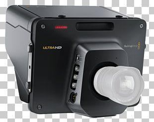 Blackmagic URSA Blackmagic Design 4K Resolution Cinema Camera Blackmagic Studio Camera 4K PNG