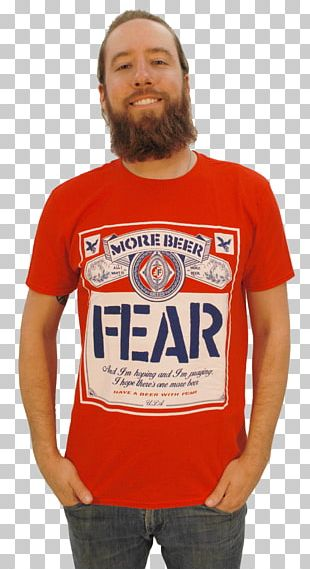 T-shirt Beer Carling Black Label Fear PNG