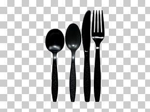 Cutlery Spoon Fork Knife Cloth Napkins PNG