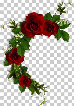 Garden Roses Paper Flower Bouquet Floral Design PNG