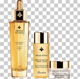 Guerlain Abeille Royale Daily Repair Serum Lotion Cream European Dark Bee PNG