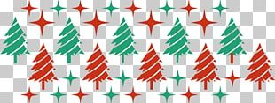 Christmas Tree Green Red PNG