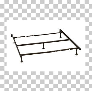 Bed Frame Mattress Box-spring Bed Base PNG