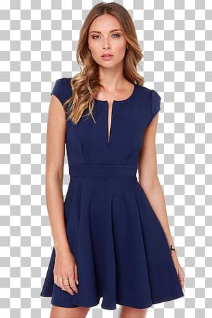 Party Dress Navy Blue Evening Gown PNG