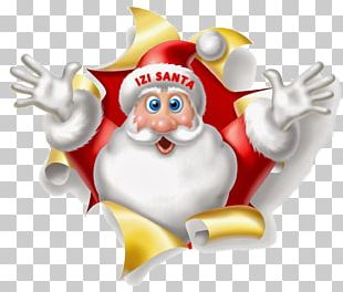 Santa Claus Christmas Wish Gift New Year PNG