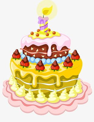 Birthday Cake Candle Birthday PNG