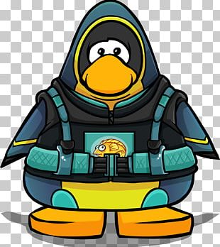 Club Penguin Chilly Willy Diving Suit PNG