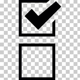 Checkbox Check Mark Computer Icons Symbol PNG