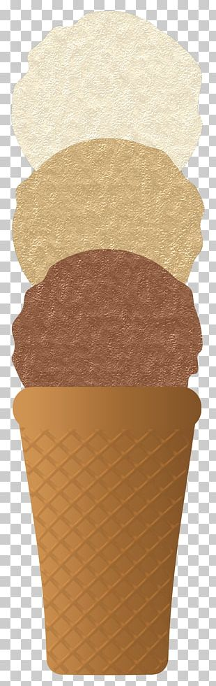 Ice Cream Cones Waffle Food PNG