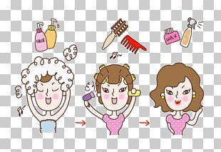 Cosmetics Cartoon Illustration PNG