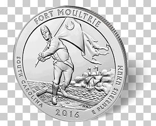 Fort Moultrie Coin Effigy Mounds National Monument Silver Fort Sumter National Monument PNG