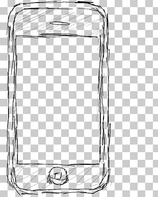 Drawing Black And White IPhone Sketch PNG