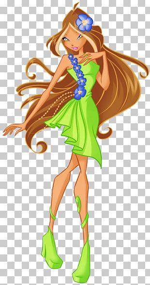 Flora Musa Stella Fairy Tecna PNG