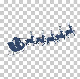 Santa Clauss Reindeer NORAD Tracks Santa Santa Clauss Reindeer Christmas PNG