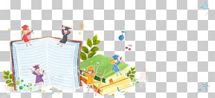 Child Book Cartoon Illustration PNG