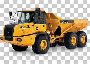 John Deere Articulated Hauler Dump Truck Car Articulated Vehicle PNG