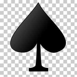 Playing Card Suit Espadas Ace Of Spades PNG