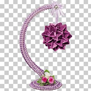 Christmas Ornament Pink M PNG