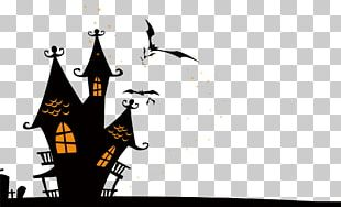 Halloween Haunted Attraction Wall Decal Party PNG
