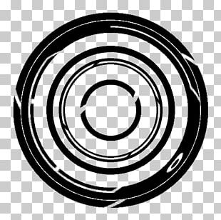 Monochrome Photography Circle PNG