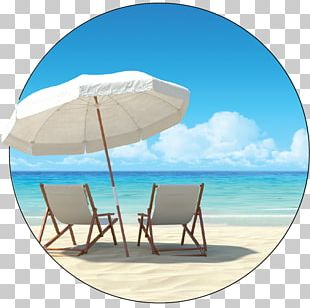 Umbrella Beach Patio Shade Chair PNG