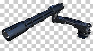War Machine Weapon Firearm Machine Gun Minigun PNG