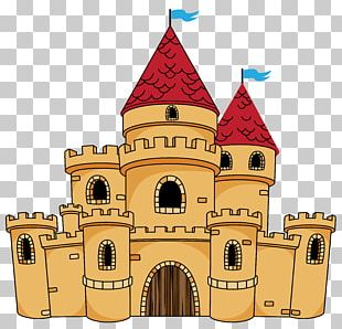 Castle Cartoon Drawing PNG