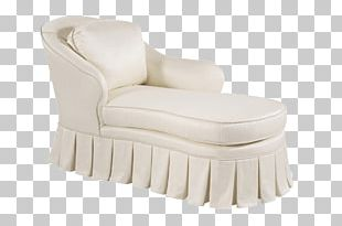 Slipcover Chair Chaise Longue Comfort PNG