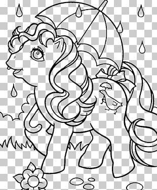 Coloring Book Rainbow Cloud Child PNG