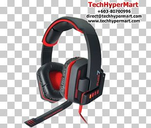 Headset 7.1 Surround Sound Headphones PNG