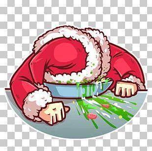 Santa Claus Telegram Sticker Film Christmas PNG