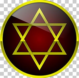 Star Of David Symbol Hexagram Judaism PNG