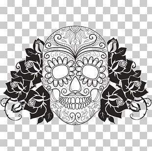 Calavera Day Of The Dead Death Human Skull Symbolism PNG