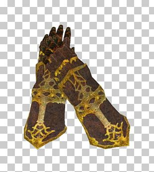 Glove Gauntlet Body Armor Oblivion Armour PNG