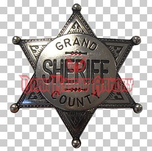 United States Marshals Service Sheriff American Frontier Badge PNG