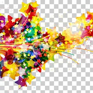 Watercolor Painting Splash Abstract Art PNG