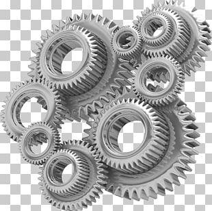 Gear Business Industry Mechanism Machine PNG