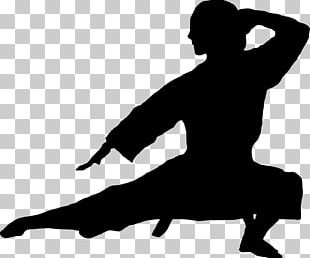 Silhouette Karate Martial Arts PNG