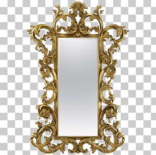 Mirror Wood Carving Furniture Frames PNG