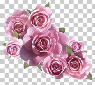 Flower Bouquet Rose Pink PNG