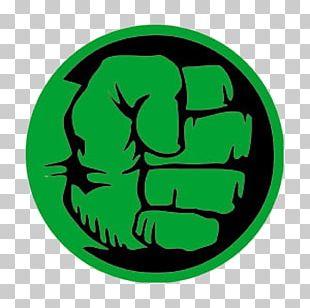 Hulk Hands Logo Fist PNG