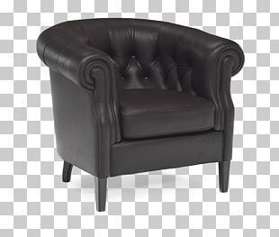 Table Wing Chair Couch Furniture PNG