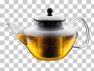 Teapot Bodum Classic Tea Press With Stainless Steel Filter And Lid PNG