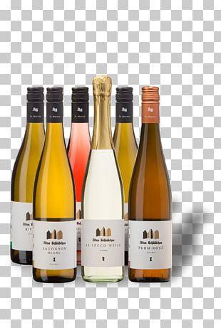 Champagne Wine Glass Bottle Liqueur PNG
