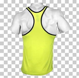 T-shirt Sleeveless Shirt Top Active Shirt PNG